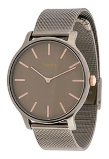Timex Transcend 38Mm Watch - Metálico