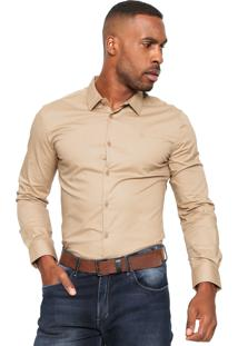 Camisa Forum Square Bege