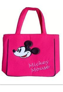 Bolsa Mickey Via Luna Feminina - Feminino-Rosa