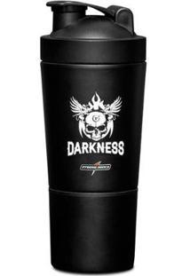 Coqueteleira Alumínio 2 Doses - Darkness - Integralmedica - Unissex