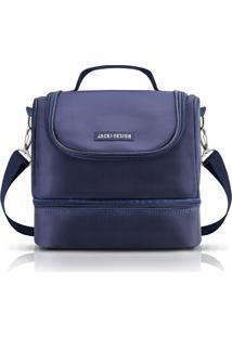 Bolsa Térmica Com 2 Compartimentos Jacki Design For Men Azul - Kanui