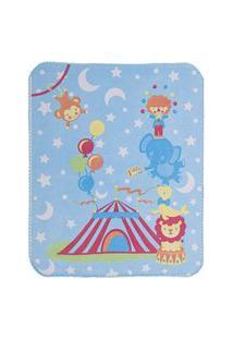 Cobertor Estampa Localizada Encanto - Circo Bambi