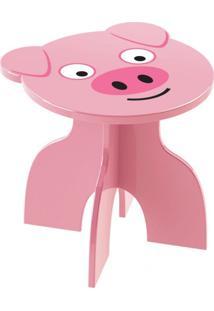 Banquinho Junges Pig Rosa