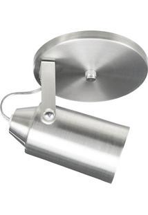 Spot 1030 Alumínio Escovado 1 Lâmpada Pavilonis