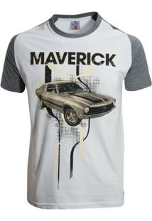 Camisa Liga Retrô Premium Ford Maverick Raglan - Masculino