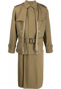 Stella Mccartney Trench Coat Andy Com Cinto - Neutro