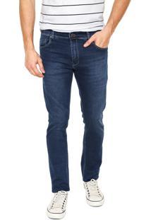 Calça Jeans Lee Skinny Azul