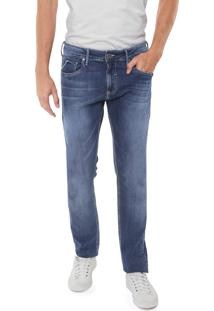 Calça Jeans Forum Slim Paul Azul