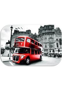 Tapete Decorativo Wevans London 40Cm X 60Cm Preto - Multicolorido - Dafiti