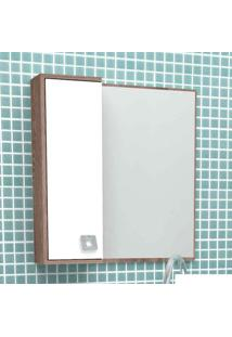Espelheira Acácia 58Cm Tamarindo Com Branco Cozimax