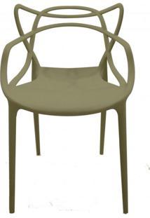 Cadeira Com Encosto E Braços Aviv Siena Móveis Fendi