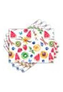 Jogo Americano - Frutas Com 4 Peças - 833Jo