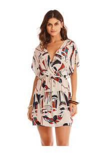 c83fe48561 Vestido Praia Transpassado feminino