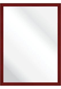 Espelho Savana Vermelho 57X77Cm