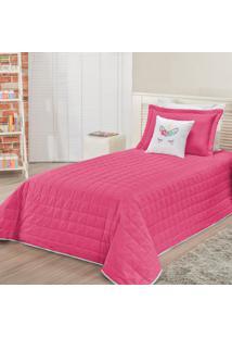 Cobre Leito Unicã³Rnio Pink Solteiro 05 Peã§As Dourados Enxovais - Rosa - Dafiti