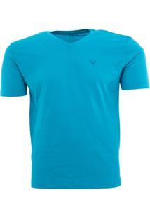 Camiseta Manga Curta Vr Azul