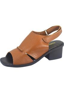 Sandália S2 Shoes Lúcia Caramelo
