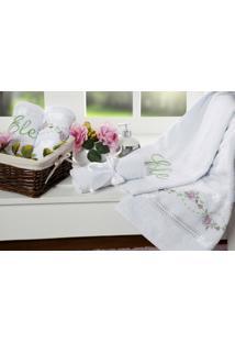 Toalhas De Banho Bouquet 5 Peças - Unissex