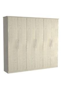 Guarda Roupa 06 Portas 976 Marfim Areia M Foscarini Off-White