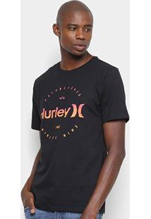 Camiseta Hurley Silk Marker - Masculina - Masculino