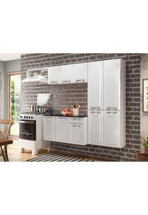 Cozinha Compacta Amanda 10 Pt 1 Gv Branca