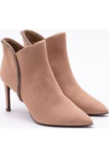Ankle Boot Nobuck Areia