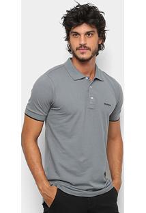 Camisa Polo Wrangler Básica Piquet Logo Bordado Masculina - Masculino