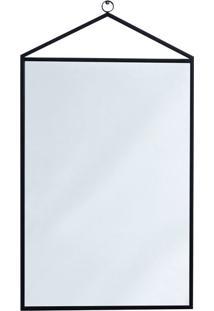 Espelho Decorativo Bart 55 X 40 Cm Preto