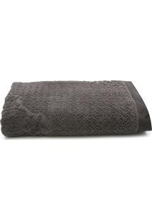 Toalha De Banho Karsten Gigante Nasser Carbono 86 X 150
