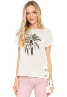 Camiseta Lez A Lez Coconut Branca - Branco - Feminino - Algodã£O - Dafiti