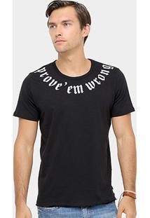 Camiseta Colcci Prove' Em Wrong Masculina - Masculino