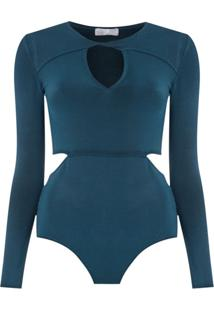 Nk Body Luciana De Tricô - Azul