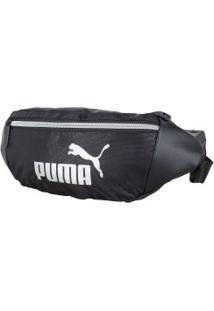 Pochete Puma Core Up Waistbag - Preto