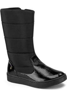 Bota Infanitl Bibi Urban Boots 1049033 Feminina - Feminino-Preto