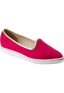 Tênis Vizzano Slipper Camurça Flex - Feminino-Pink