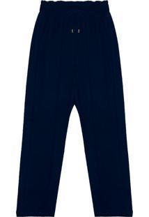 Calça Feminina Molecotton Azul