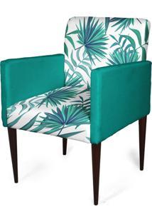 Cadeira Decorativa Sala Mademoiselle Plus Imp Digital 170 - Kanui