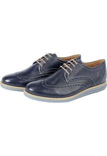 Sapato Social Sandro Moscoloni Gregon Azul