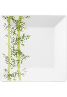 Conjunto De 6 Pratos Fundos 21X21Cm Quartier Bamboo - Multicolorido - Dafiti