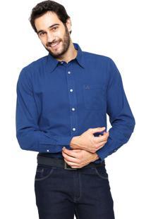 Camisa Polo Play Reta Harry Azul