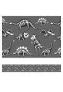 Adesivo De Parede Faixa Decorativa Infantil Dinossauros 6M X 15Cm