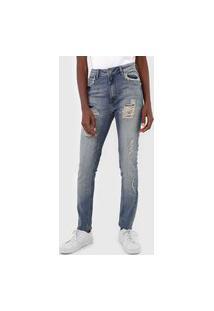 Calça Jeans John John Skinny Long Kennewick Azul