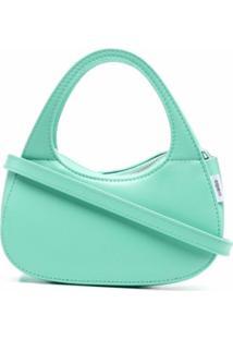 Coperni Baguette Swipe Shoulder Bag - Verde