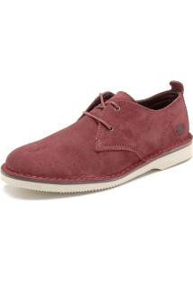 Sapato Kildare Liso Vermelho