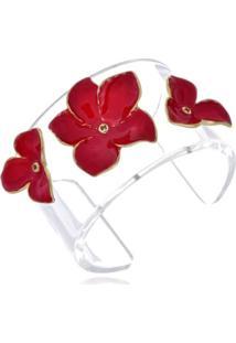 Bracelete Le Diamond Adebume Vermelho