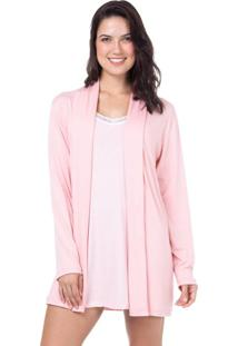 Robe Viscolycra Homewear Rosa | 589.0715