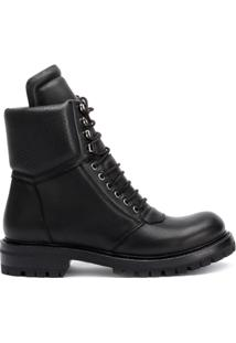 Rick Owens Ankle Boot Larry Army - Preto