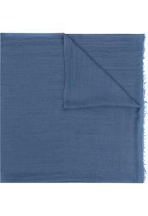 Isabel Marant Cachecol Leve De Cashmere - Azul
