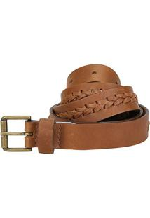 Cinto Couro Shoestock Handmade Feminino - Feminino