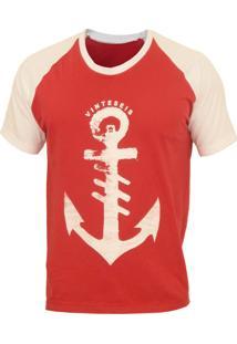 Camiseta Manga Curta Vinteseis Anchor